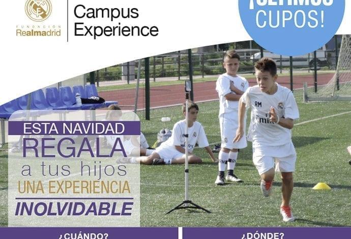Campus Experience Fundación Real Madrid llega a Santiago de Chile