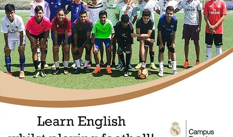 Learning spanish football campus madrid