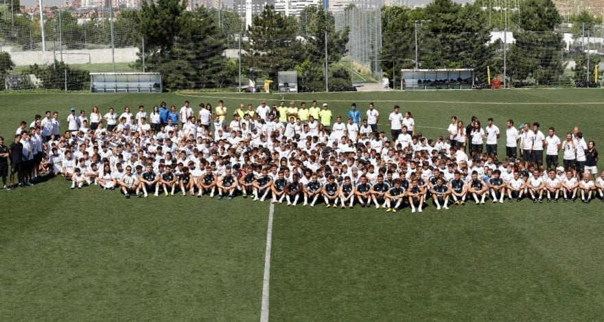 Real Madrid FC players surprised participants of Campus Experience